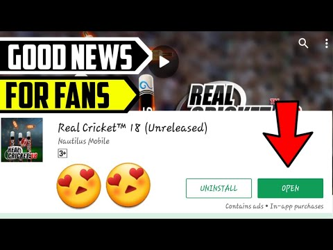 🔥New Amazing Good News For Real Cricket 18 Fans 🔥