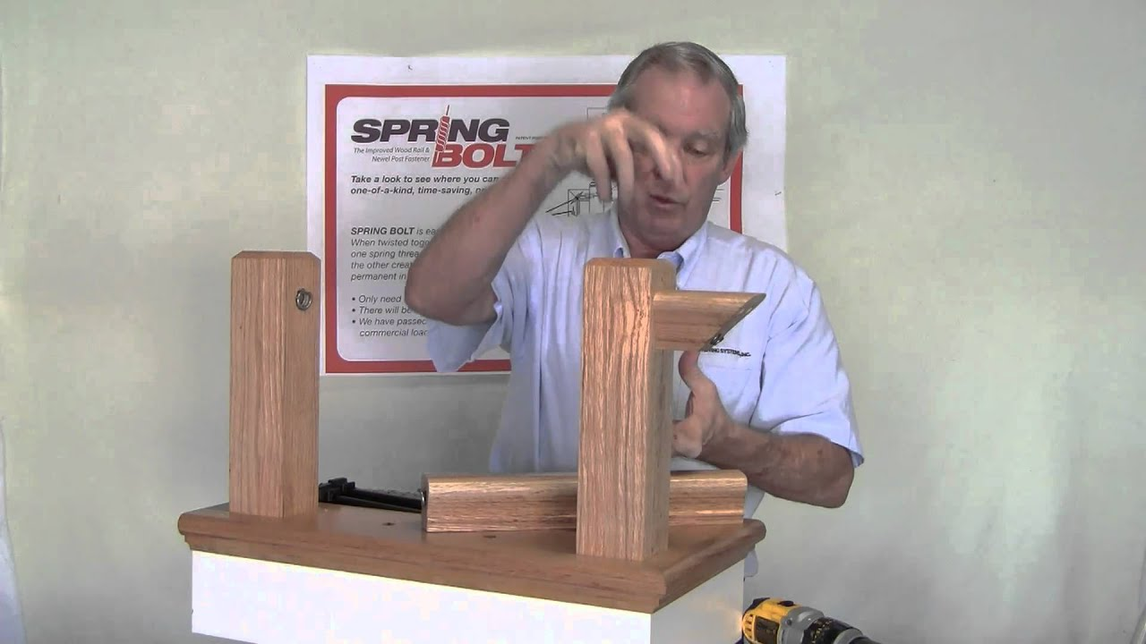 How to install post railings attachment hardware for installing how to install post railings attachment hardware for installing railings hd youtube baanklon Images