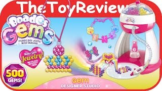 Beados Gems Easy Design Studio Unboxing Toy Review by TheToyReviewer