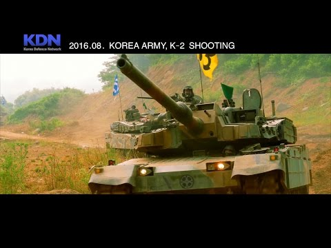 Korea Defence Network - K-2 Black Panther Main Battle Tanks Range Live Firing [2160p]