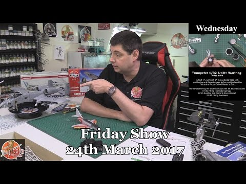 Flory Models Friday Show 24th March 2017