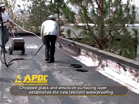 Apoc 174 Your Roof Restoration Experts Youtube