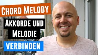 Jazz Gitarrenunterricht - Jazzgitarre Chord Melody lernen - Jazzstandards Gitarre