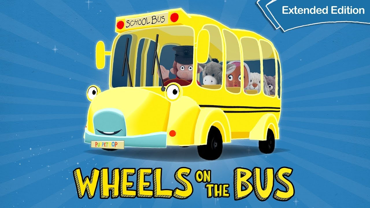 Wheels on the Bus - Extended Edition Nursery Rhyme for children