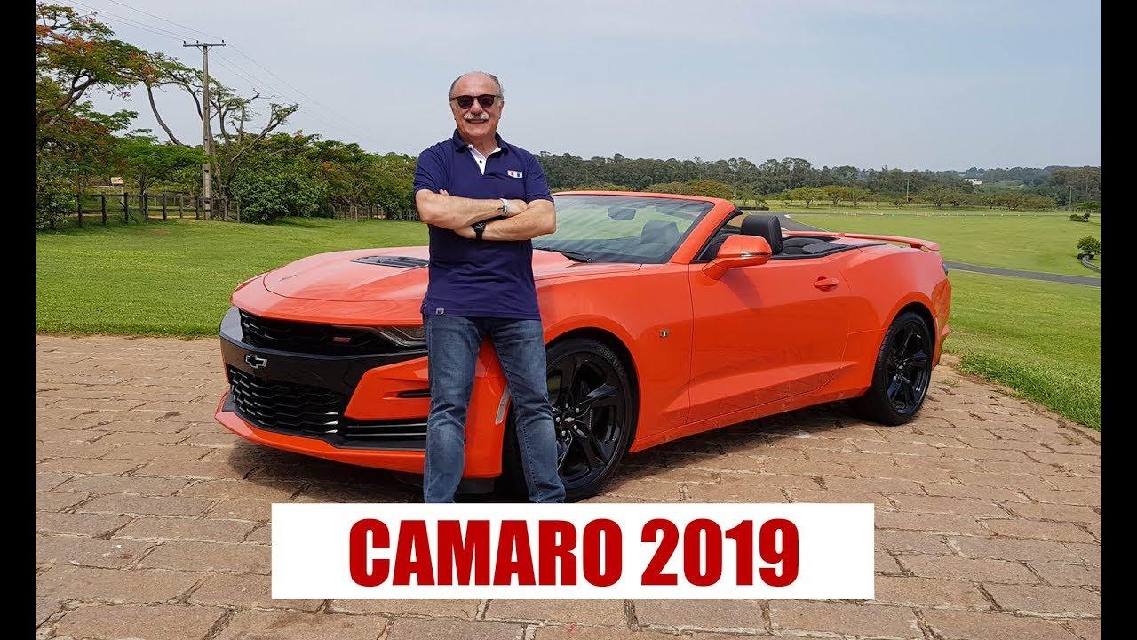 Chevrolet Camaro 2019 - por Emilio Camanzi