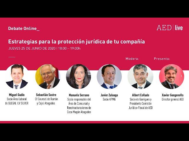 Debate Online_ Estrategias para la protección jurídica de tu compañía