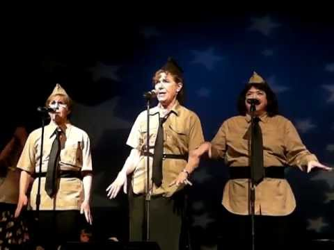 Bugle Boy of Company B - The Andrew Sisters (Cover)