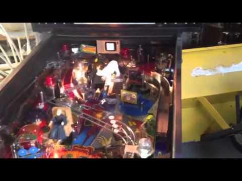 Bally Addams Family pinball machine - YouTube
