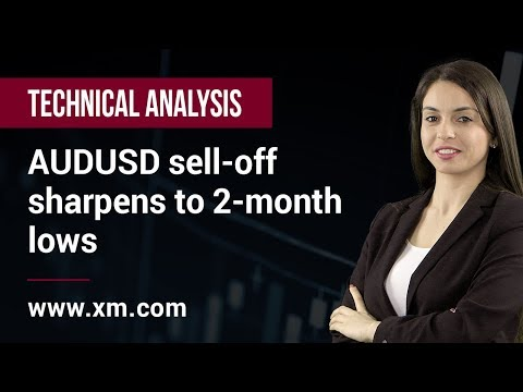 Technical Analysis: 06/03/2019 - AUDUSD sell-off sharpens to 2-month lows