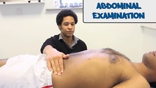 Abdominal Examination - OSCE Guide (Old version)