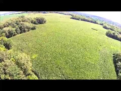 Housewright Family Farm Aerial Tour - Hancock County, IL