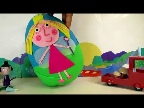 Ben and Holly Play Doh Giant Surprise Egg