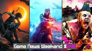 Игровые Новости — Battlefield 5, Shadow of the Tomb Raider, RAGE 2, Death Stranding, Dying Light 2
