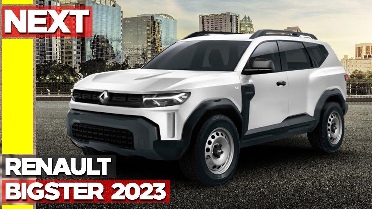 Renault BIGSTER Confirmado para 2023