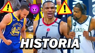 CURRY Y WESTBROOK HACEN HISTORIA, LAKERS VS WARRIORS? NOTICIAS