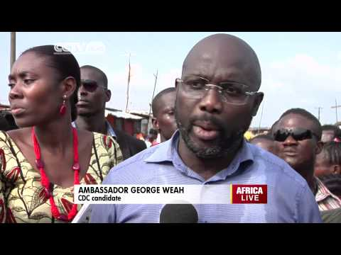 George Weah on Liberia's Senatorial Elections