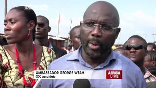 George Weah on Liberia's Senatorial Elections