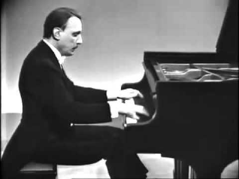 Michelangeli plays Chopin Berceuse Op. 57 D Flat Major