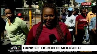 Bank of Lisbon Building demolished, people react