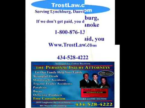 Personal Injury Attorney Lynchburg, VA | TrostLaw.com | Acci