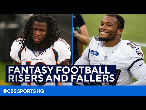 Download Fantasy Football Risers and Fallers from the Preseason   CBS Sports HQ