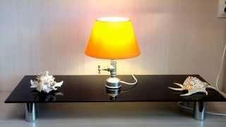 Светильник и лампа своими руками. Handmade desk lamp, pipe lamp