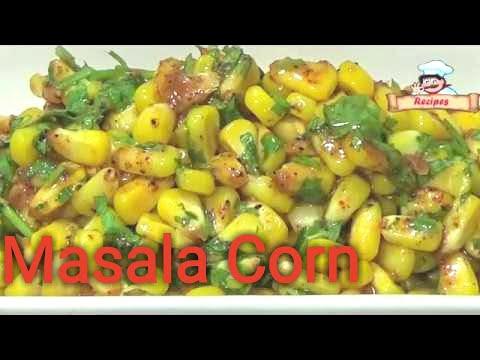 Masala Corn Recipe by Deepa Khurana