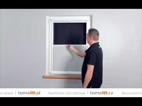how to install spinella and spinella duplex cassette roller blinds | toma24.eu