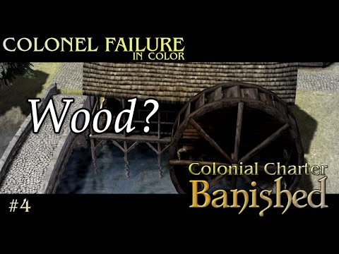 Banished Colonial Charter Mod #4 : Constant wood shortage