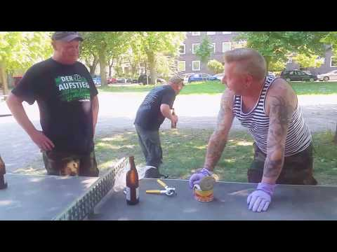 Surströmming-Challenge in Hannover, Germany