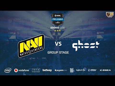 Navi vs Ghost Gaming - [Game 3] Mirage - Group Stage - ESL Pro League Season 8 Final