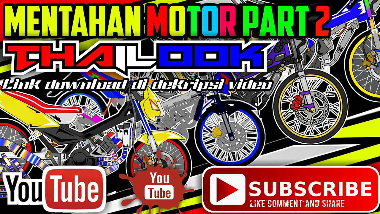 Mentahan Thailook Motor Part 2 2 4 Youtube