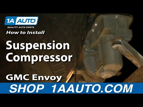 how-to-replace-rear-air-suspension-compressor-02-09-gmc-envoy