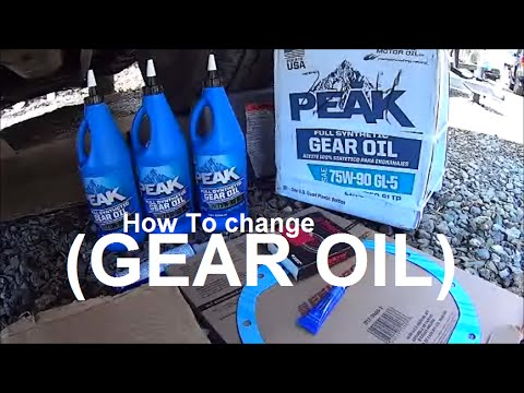 Differential Fluid / Oil and Gasket Change | G80 10 Bolt | Escalade, Tahoe, Yukon, Avalanche, Vans