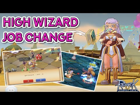 HIGH WIZARD JOB CHANGE QUEST | Ragnarok Mobile Eternal Love