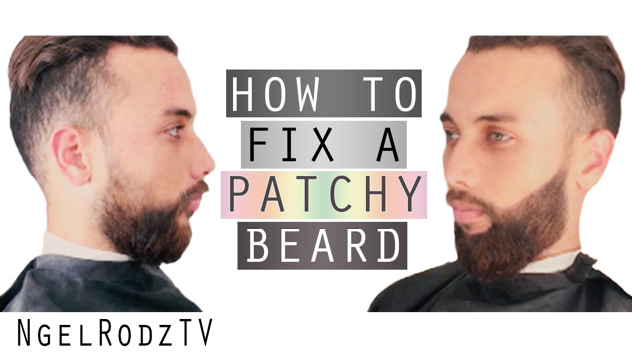 How To Fix a Patchy Beard - YouTube