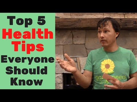 Top 5 Health Tips Everyone Should Know