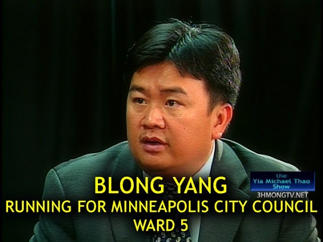 Blong Yang interviewed by Yia Michael Thao why it is important to vote for him.