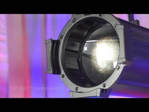 Comparison Of ADJ Gobo Projector LED, Chauvet LFS 5, ADJ IKON LED, & The Chauvet EVE E 100Z