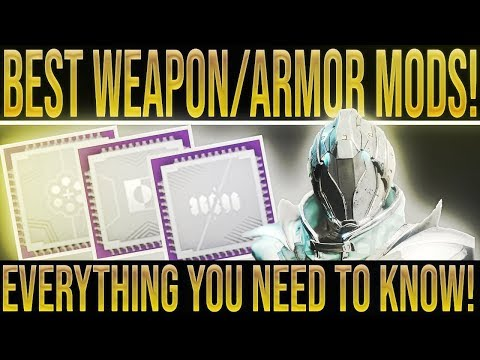 Mod Cooldowns and Weapon List - Destiny Loot Cave