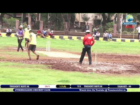 Trident Navi Mumbai VS Umesh XI | Vikhrolians Cricket Club 2