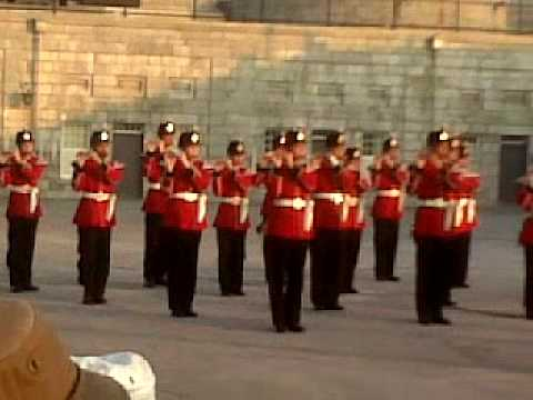 Kingston Ontario Re-Enactment with US Marine Corps Band
