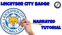 How to draw Football Badges|Learn to Draw Soccer badges| Draw Leicester City Badge|