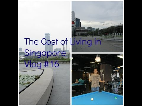 The Cost of Living in Singapore (Vlog #16)