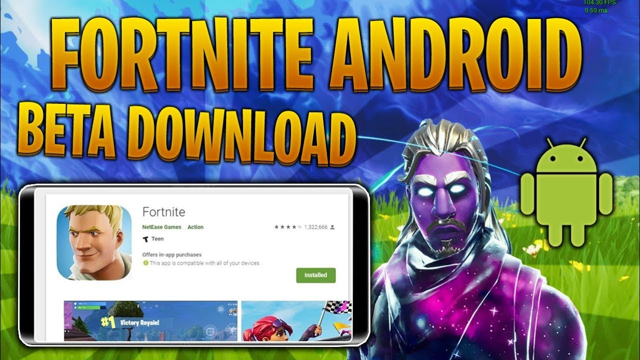 how to download fortnite android beta not clickbait - android beta download fortnite