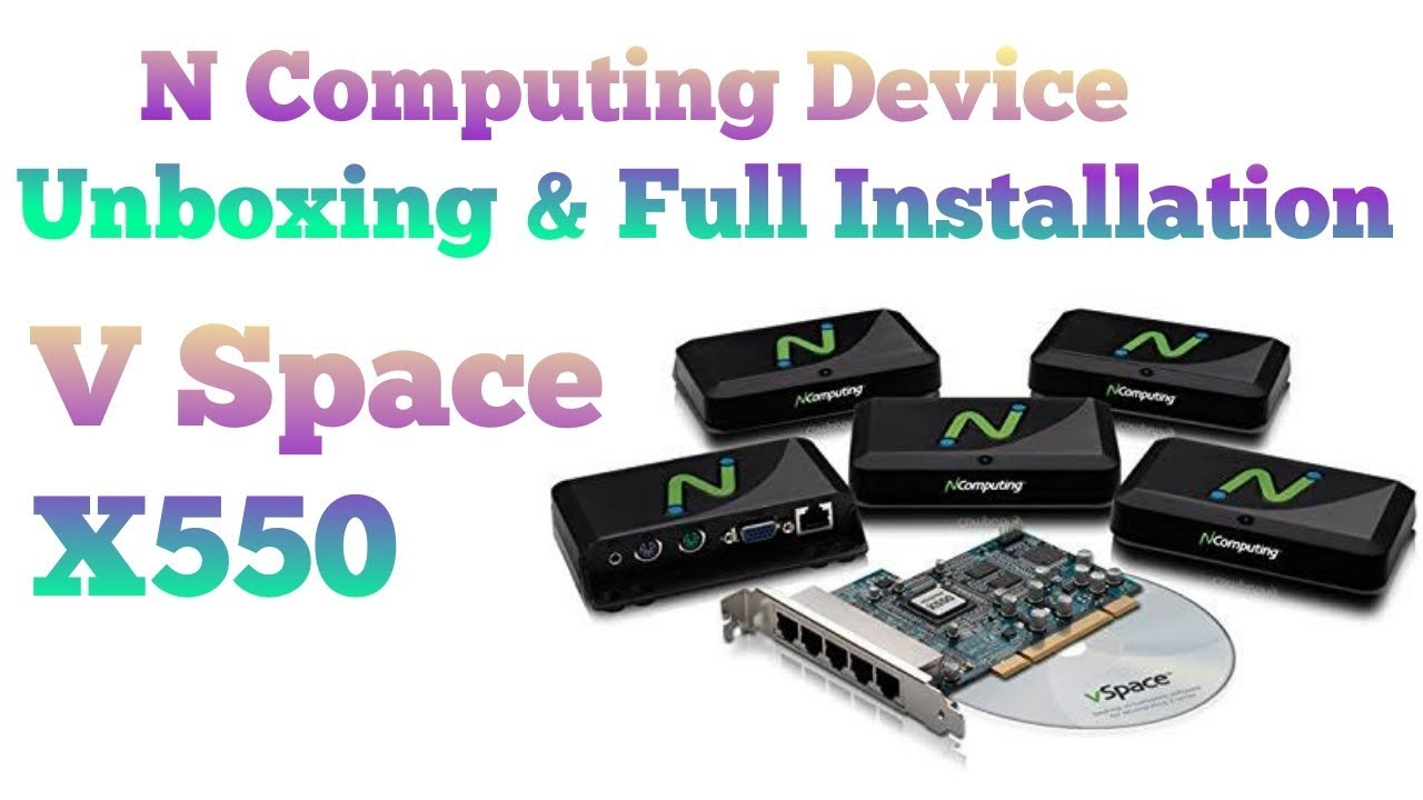 X550 NCOMPUTING DRIVER DOWNLOAD