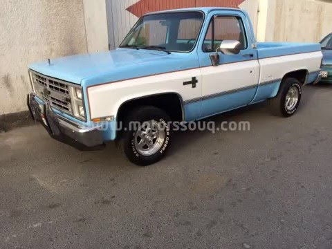 for sale 1985 c 10 chevy classic truck square body youtube. Black Bedroom Furniture Sets. Home Design Ideas