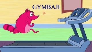 Zee Çocuklar Gymbaji Ep - 69 - Pyaar Mohabbat Mutlu Şanslı - Türkçe Çizgi Film Show -