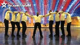 Britains got Talent strong man - very funny