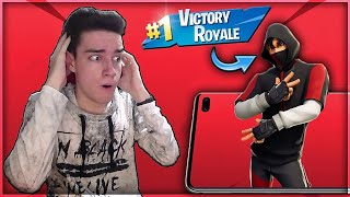 FIRST WIN with the NEW IKONIK SKIN! | Fortnite Romania
